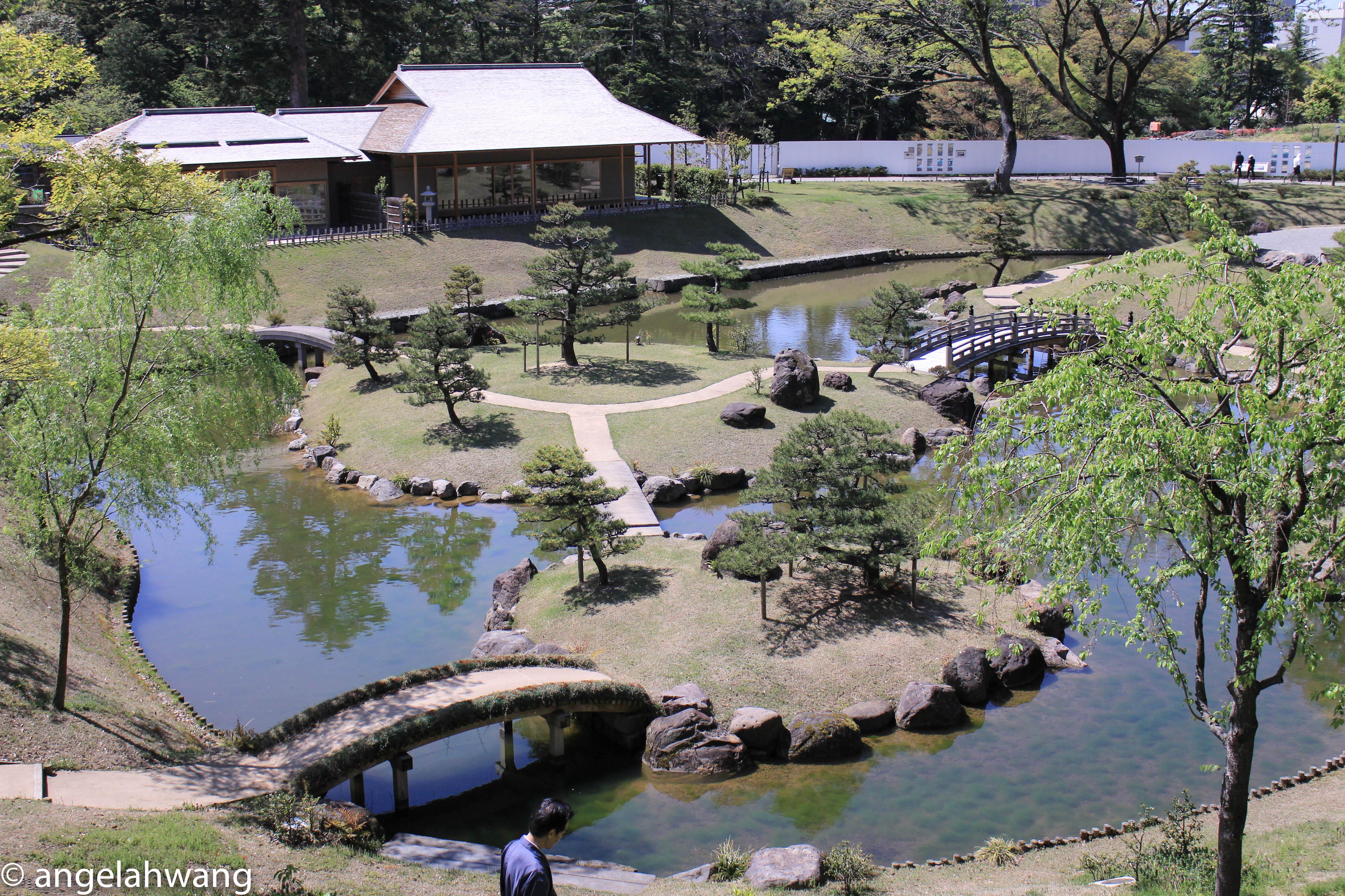 Kanazawa Higashi Chaya and Kenrokuen Garden
